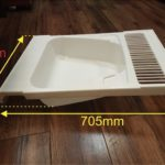 таз на ванную (размеры)